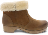 Bettie Nubuck Shearling Boot
