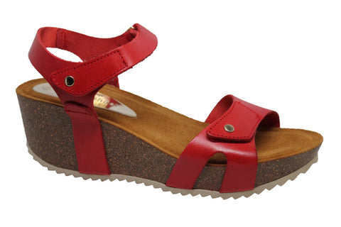 Nadia Adjustable Platform Sandal
