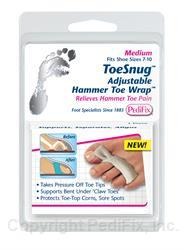 Toe Snug Adjustable Hammer Toe Wrap