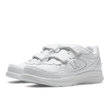 Women's 577 White Velcro Walking Shoe