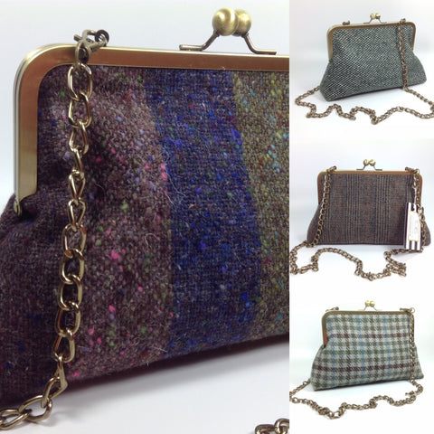 20% DISCOUNT ON TWEED BAGS