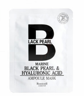 Rooicell contro -Black pearl & Hyaluronic acid 黑珍珠玻尿酸面膜
