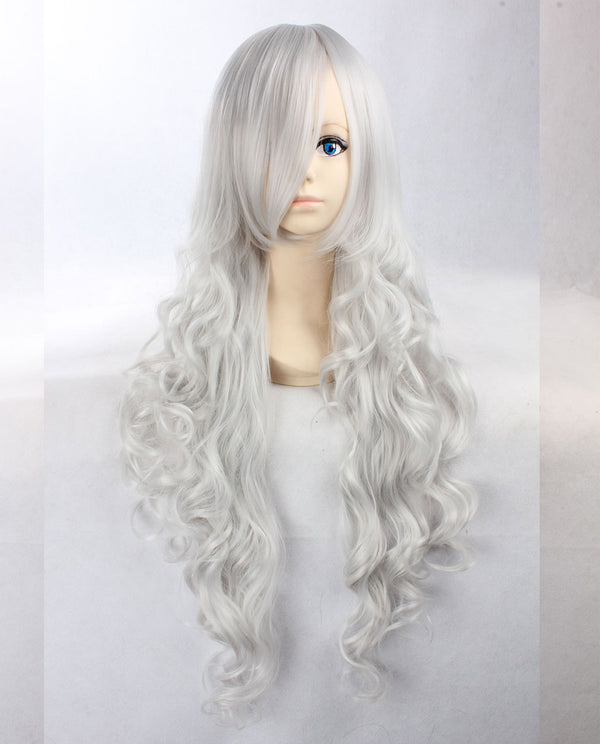Wavy Synthetic Wig - Gray