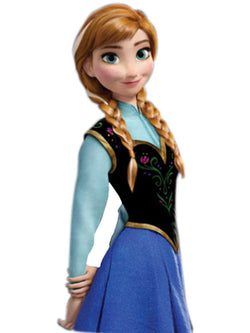 Princess Anna of Frozen Costume Wig
