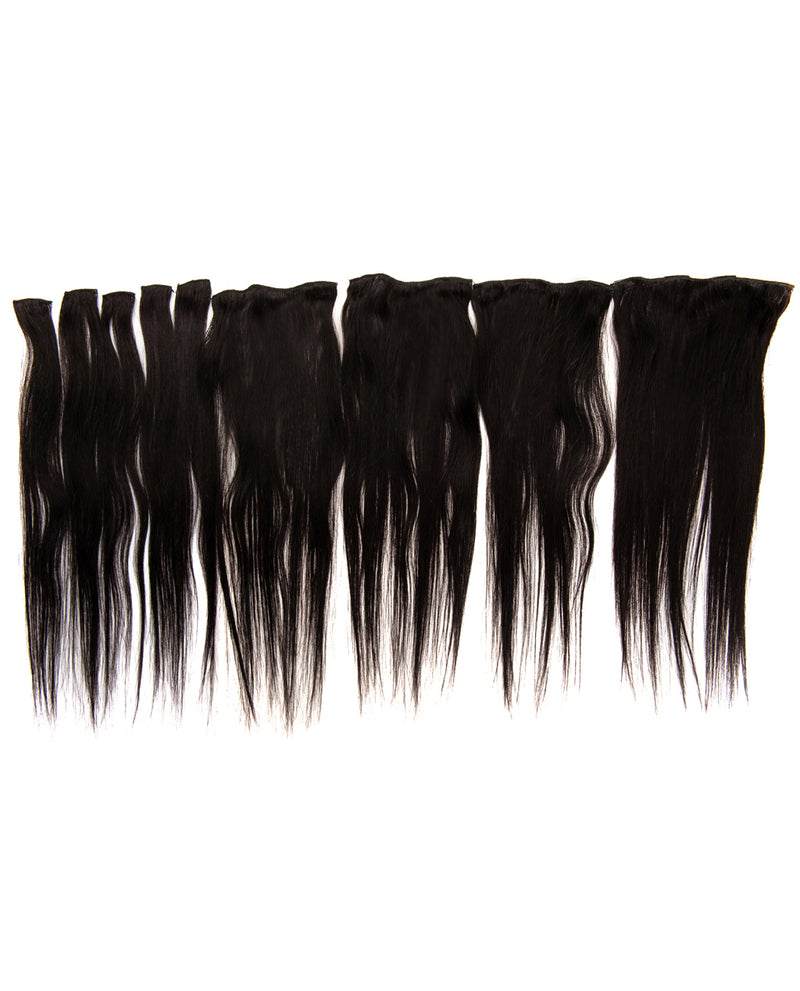 Natural Black(#1B) 9 Piece