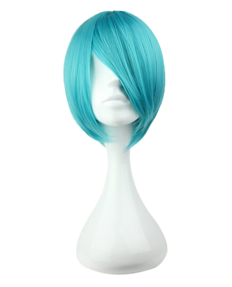 Vocaloid Inspired Curly Hatsune Miku Wig - Ice Blue