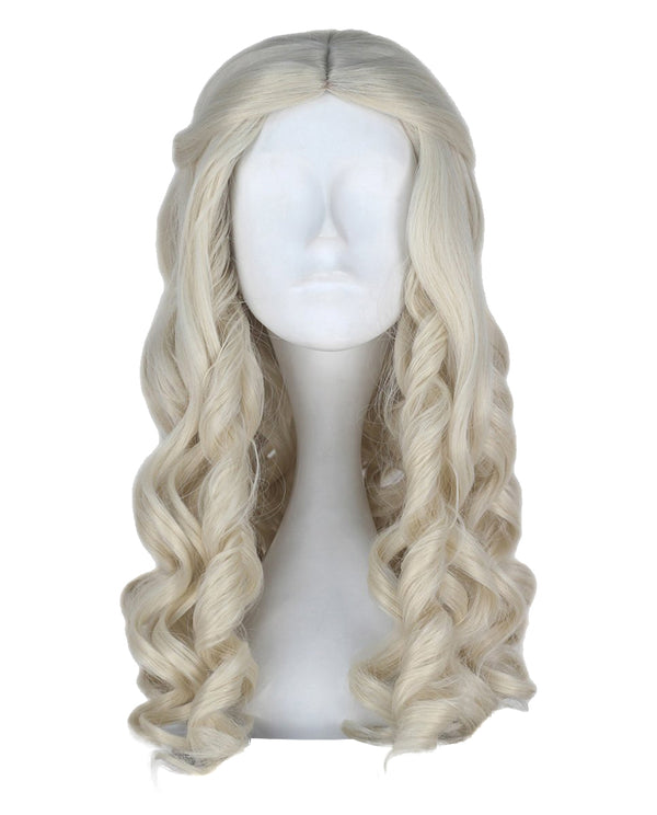 White Queen of Alice Through The Looking Glass Costume Wig