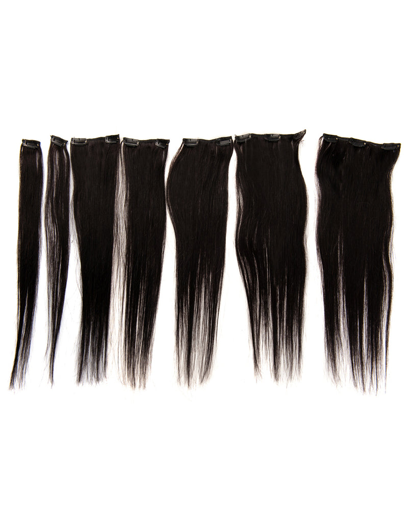 Natural Black(#1B) 7 Piece