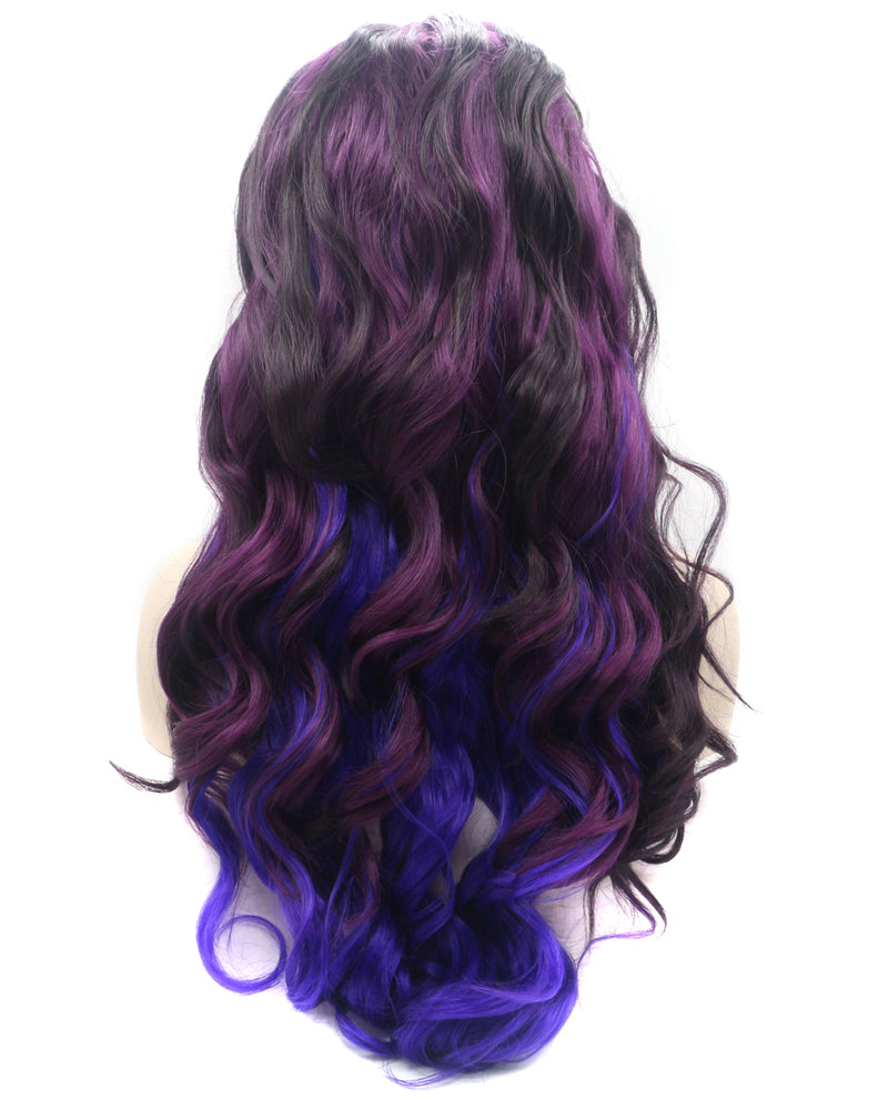 "Violet Ombre 24"" Body Wave Wig"