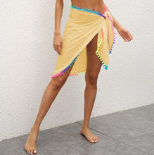 Load image into Gallery viewer, Purxi - Beach skirt sarong with tassle