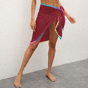Purxi - Beach skirt sarong with tassle