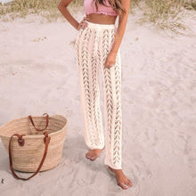 Load image into Gallery viewer, Purxi - Crochet beach pants