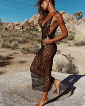 Load image into Gallery viewer, Purxi - Fishnet Beach Dress