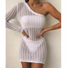 Load image into Gallery viewer, Purxi - Off Shoulder Mini Dress