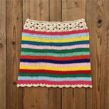 Load image into Gallery viewer, Purxi - Crochet cotton skirt