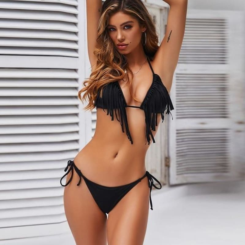 Purxi - All Tasseled Up Brazilian Bikini