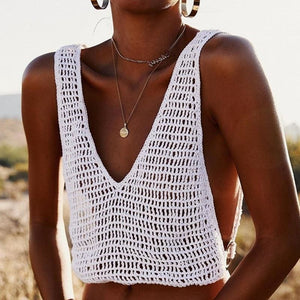 Purxi - Hand Crochet Crop Top