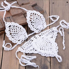 Load image into Gallery viewer, Handmade Crochet String Bikini