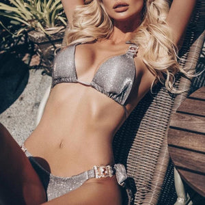 Metallic Dream String Bikini