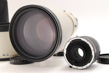 Load image into Gallery viewer, 【OPTICAL NEAR MINT】MAMIYA A APO 300MM F/2.8 W/ 2X TELE CONVERTER FOR 645 PRO TL