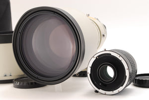 【OPTICAL NEAR MINT】MAMIYA A APO 300MM F/2.8 W/ 2X TELE CONVERTER FOR 645 PRO TL