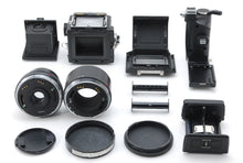 Load image into Gallery viewer, 【NEAR MINT】ZENZA BRONICA ETRS W/ ZENZANON MC 40mm f/4, E42 Extenstion tube Set