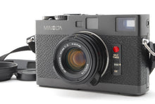 Load image into Gallery viewer, 【NEAR MINT+++】MINOLTA CLE RANGEFINDER BODY W/M ROKKOR 40mm f/2 LENS SET FROM JPN