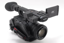 Load image into Gallery viewer, PANASONIC AG DVX200 4K CAMCORDER WITH LEICA ZOOM LENS ONLY108 HOURS! DVX 200