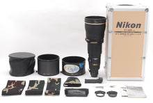 Load image into Gallery viewer, 【RARE!MINT】NIKON Ai-S AF-S NIKKOR 600mm F/4D ED IF AF TELEPHOTO LENS W/CASE,MORE