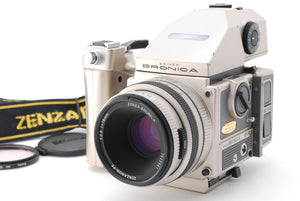 【NEAR MINT IN CASE】ZENZA BRONICA ETRSI 40th Anniversary W/75mm f/2.8, 120 Film Back
