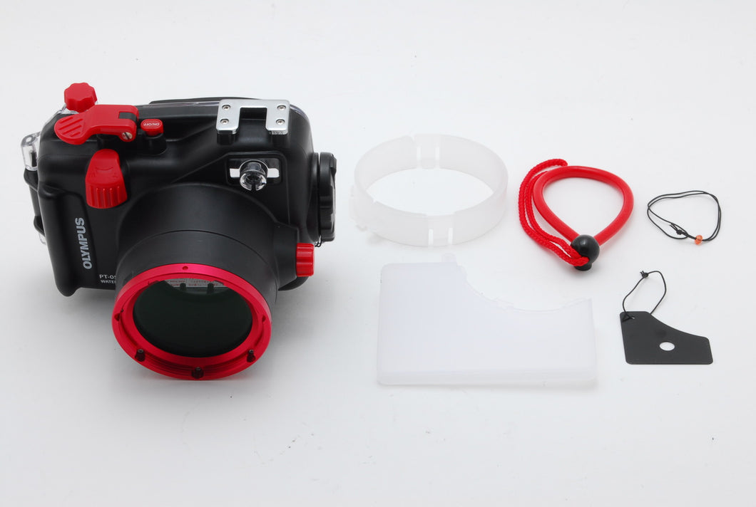 【UNUSED】OLYMPUS PT-050 PT050 UNDER WATER UNDERWATER HOUSING FOR XZ-1 FROM JAPAN