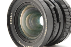 【EXC+++++】ZENZA BRONICA ZENZANON PS 50mm f3.5 MF LENS FOR SQ SQ-A SQ-AI BODY