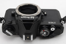 Load image into Gallery viewer, 【EXC++++】NIKON NEW FM2 BLACK 35MM SLR BODY ONLY W/ STRAP FROM JAPAN