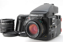 Load image into Gallery viewer, 【NEAR MINT+++】MAMIYA 645 PRO BODY W/ SEKOR C 80mm f/2.8, AE FINDER, 120 BACK