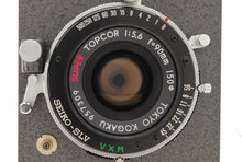 Load image into Gallery viewer, 【NEAR MINT+++】HORSEMAN VH BODY W/ SUPER TOPCOR 90mm f/5.6 LENS SET FROM JAPAN
