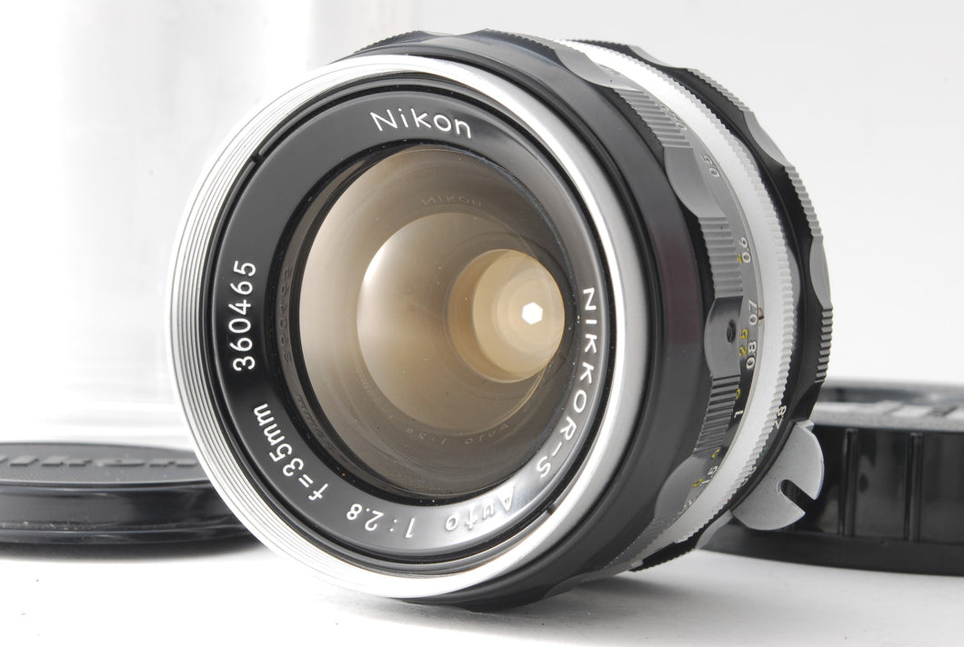 【MINT IN CASE】NIKON NON-AI NIKKOR S AUTO 35mm f/2.8 MF NONAI LENS FROM JAPAN