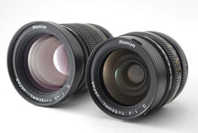 Load image into Gallery viewer, 【NEAR MINT IN CASE】NEW MAMIY 6 SIX MF W/ G 50MM,150MM LENS, PANORAMIC ADAPTER
