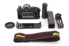 Load image into Gallery viewer, 【NEAR MINT+++】NIKON FM3A 35MM SLR BLACK BODY WITH MD-12 MOTOR DRIVE FROM JAPAN