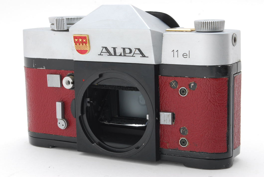 【VERY RARE!CUSTOM】ALPA 11el RANGEFINDER 35mm FILM CAMERA BODY FROM JAPAN