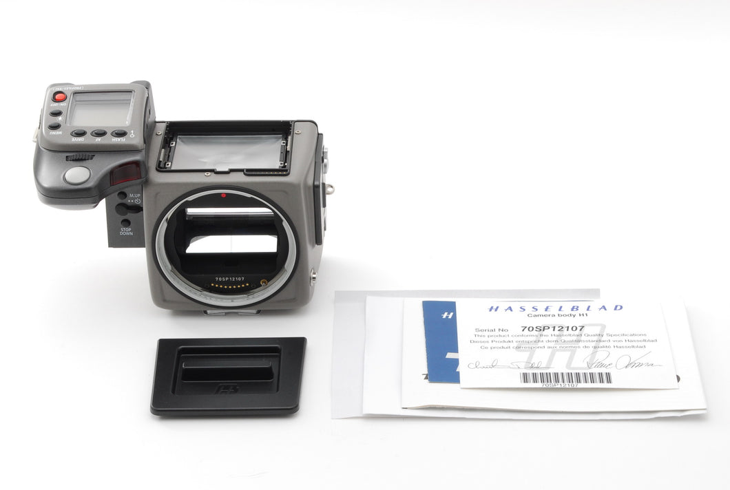 【NEAR MINT+++】HASSELBLAD H1 MEDIUM FORMAT SLR Film Camera Body Only