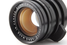 Load image into Gallery viewer, 【NEAR MINT+++】LEICA LEITZ SUMMICRON M 50MM F/2 MADE IN CANADA M MOUNT FROM JAPAN