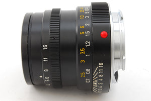 【NEAR MINT+++】LEICA LEITZ SUMMICRON M 50MM F/2 MADE IN CANADA M MOUNT FROM JAPAN