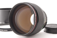 Load image into Gallery viewer, 【MINT W/ BT-72 HOOD】CANON NEW FD NFD 85MM F/1.2L MF PORTRAIT LENS FROM JAPAN
