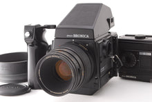 Load image into Gallery viewer, 【NEAR MINT】ZENZA BRONICA GS-1 W/ MACRO ZENZANON PG 110MM F4 AE FINDER FROM JAPAN