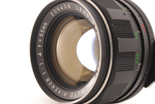 Load image into Gallery viewer, 【RARE!!MINT】RICOH RIKENON 55MM F/1.4 MF M42 MOUNT STANDARD LENS FROM JAPAN