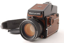 Load image into Gallery viewer, 【NEAR MINT+++】MAMIYA M645 1000S LIMITED LIZARD W/ SEKOR C 80MM F/1.9 LENS SET