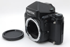 【MINT IN HARD CASE】PENTAX 67II AE FINDER BODY W/ SMC TAKUMAR P 105MM F/2.4 MORE