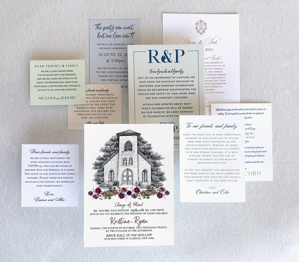 Continued: How to word your invitations {while still in a pandemic}