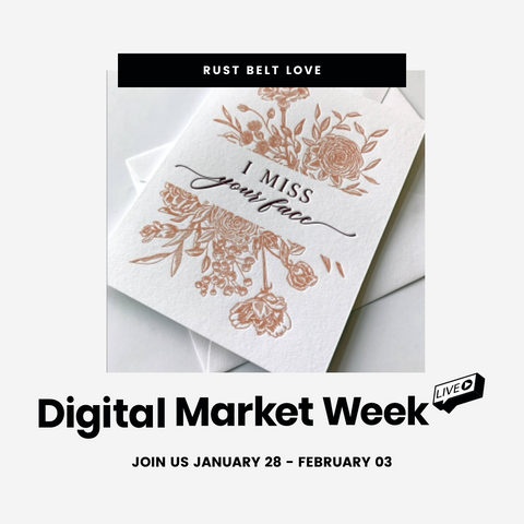 NY Now Digital Market Week Graphic for Rust Belt Love