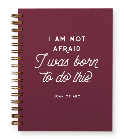 I Am Not Afraid, I Was Born to Do This - Journal